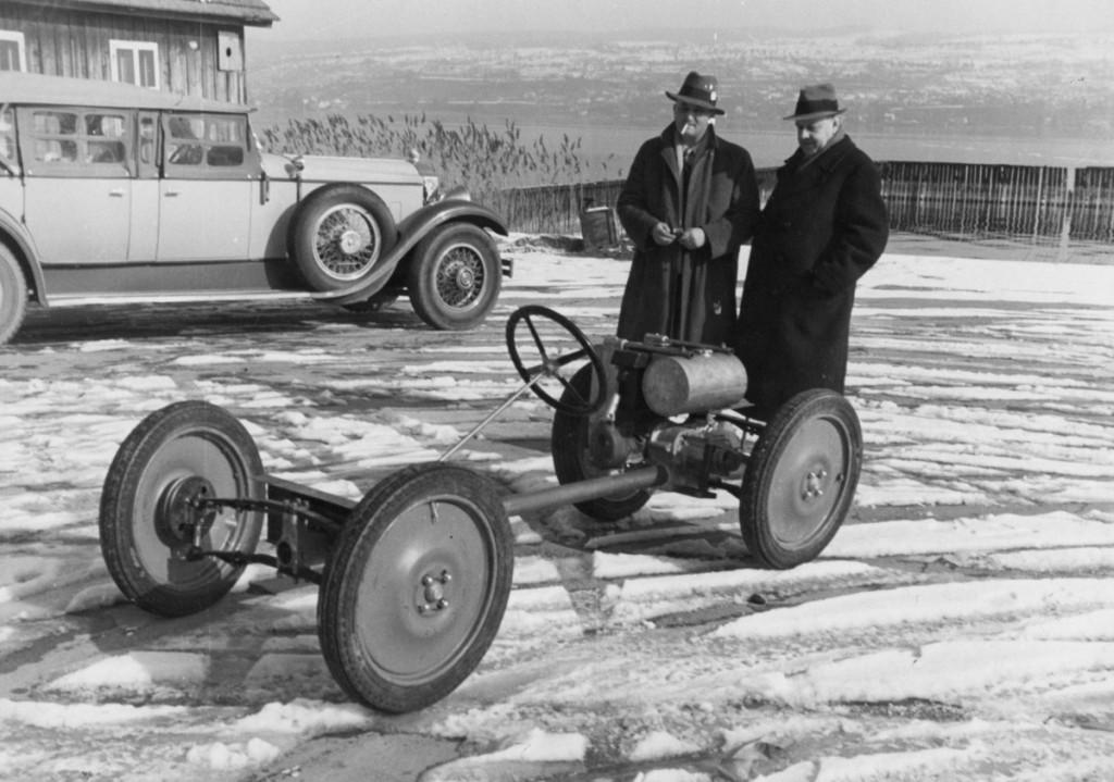 1937, Enhver bil begynder med et chassis