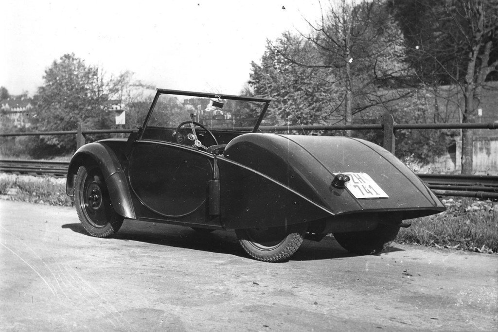 1946 Swiss VW, prototype, built by Rapid