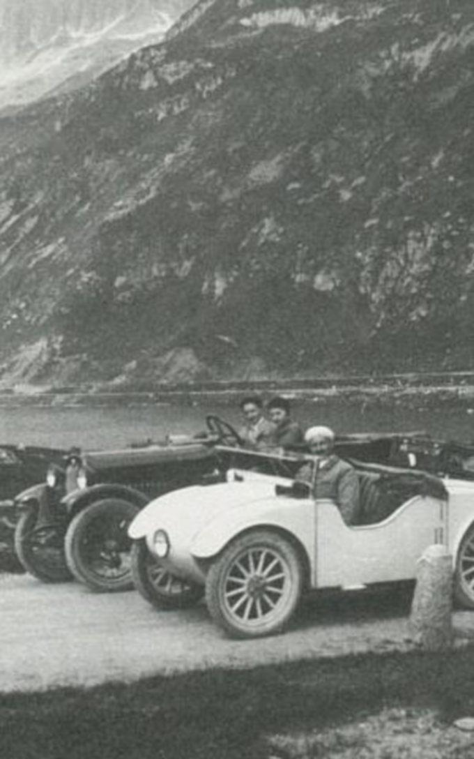 Josef Ganz byggede også selv biler