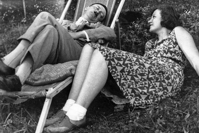 Niecen Gali og Adolf Hitler