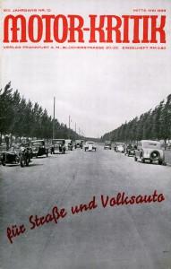 Motor-kritik, 1933/10